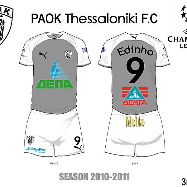PAOK GREECE 3RD 2010/2011