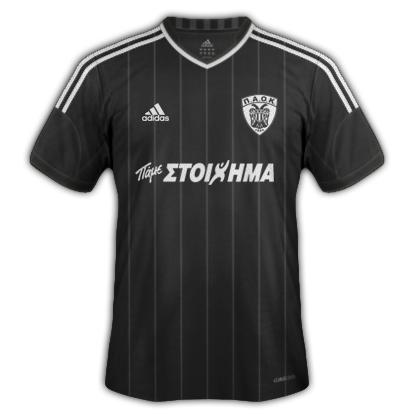 PAOK kits for 2013/14 (Adidas)