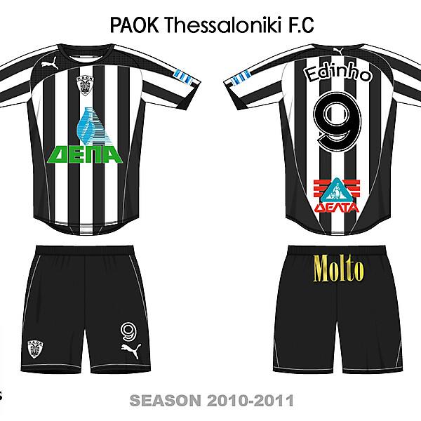 PAOK GREECE HOME 2010/2011
