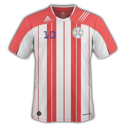 Paraguay Fantasy shirt