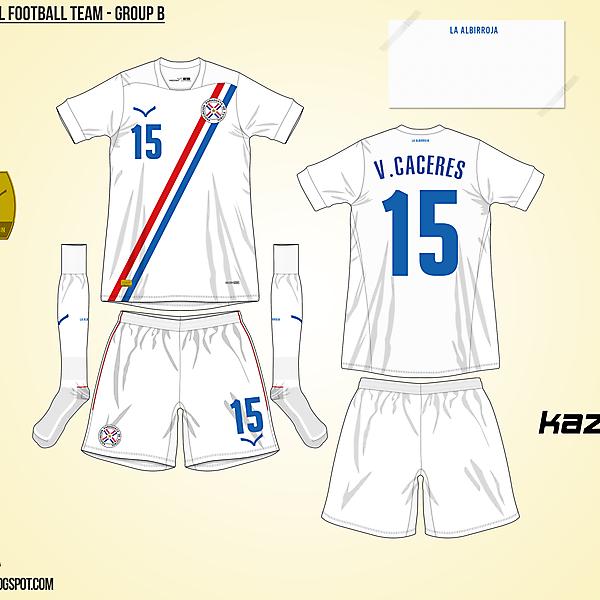 Paraguay Away - Group B, 2015 Copa América