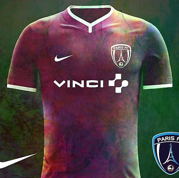 Paris FC Away Nike Kit