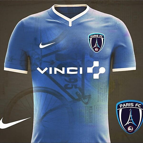 Paris FC Home Kit 17/18