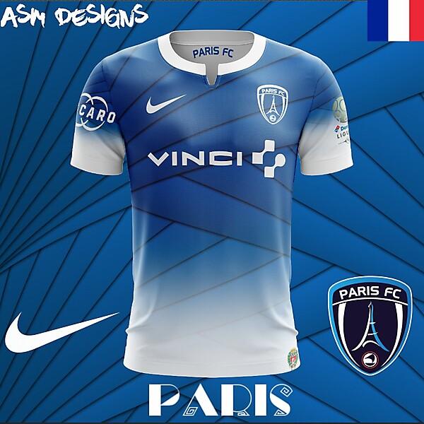 Paris FC Nike 2018 Home Kit