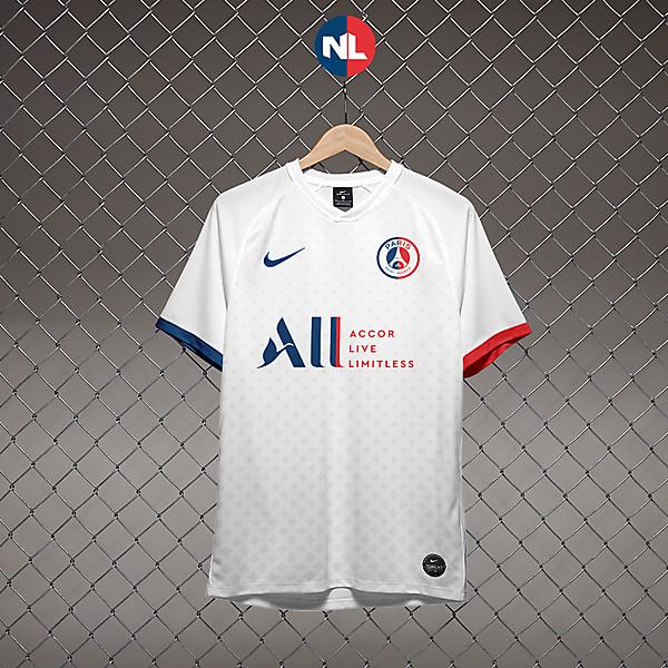 Paris Saint-Germain - Away Kit 2020/21