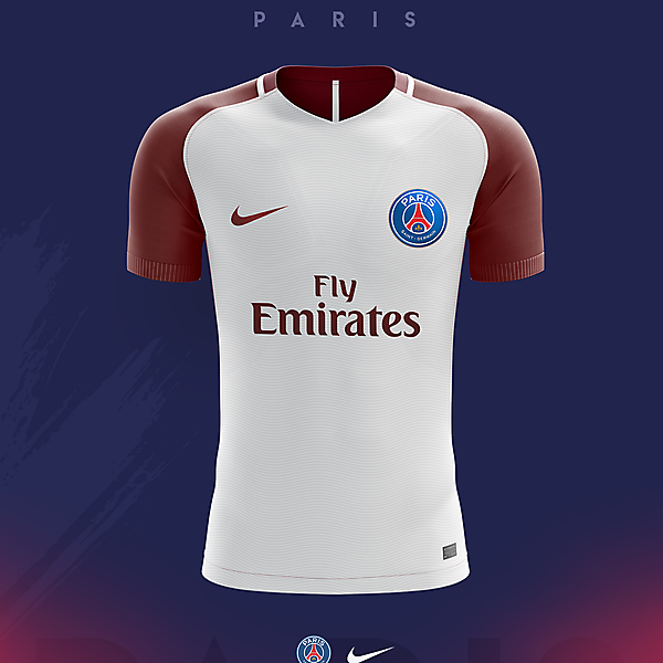 PARIS St. Germain - Away Concept 2018/19