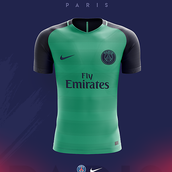 PARIS St. Germain - Third Concept 2018/19