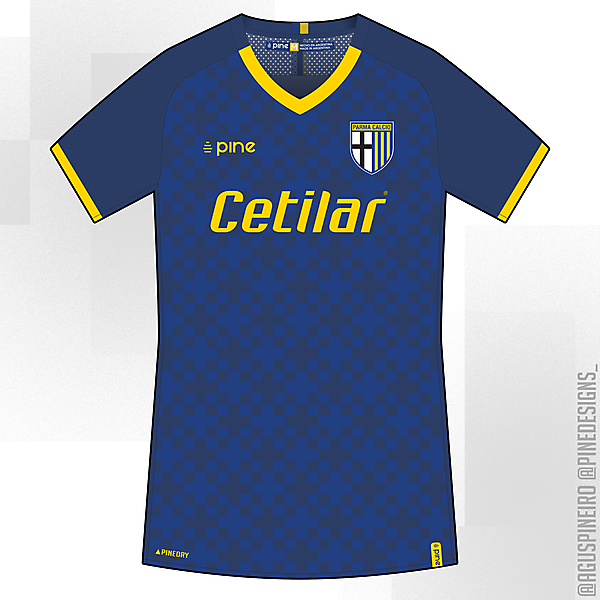 Parma Calcio 1913   Away   Pine