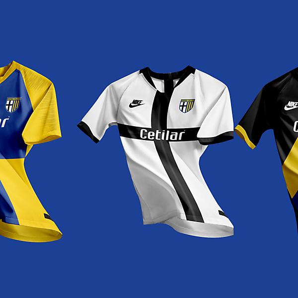 Parma Calcio 1913 X Nike 2021 Kits