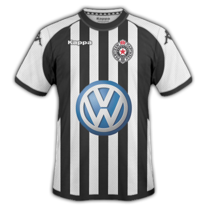 Partizan Home Shirt