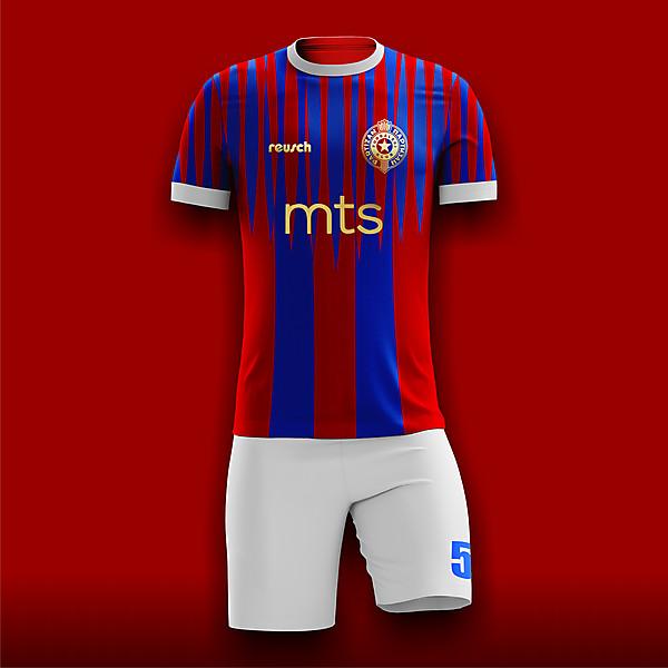 Partizan Beograd Away Concept X Reusch