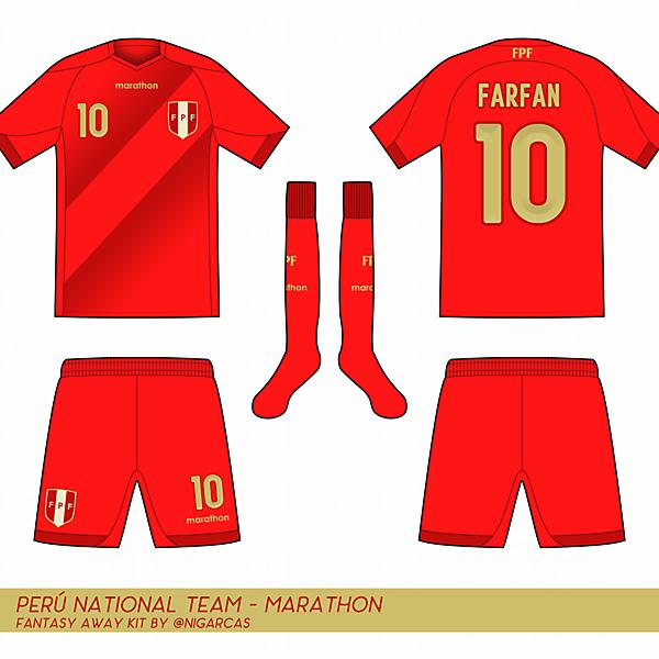 Perú National Team -Away Kit