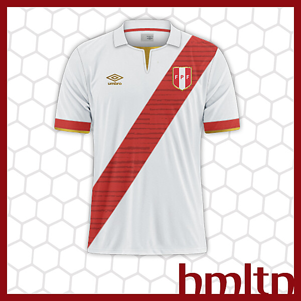 Peru World Cup kit
