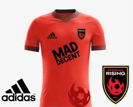 Phoenix Rising FC Concept home kit