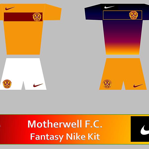 Motherwell FC Nike Fantasy Kit