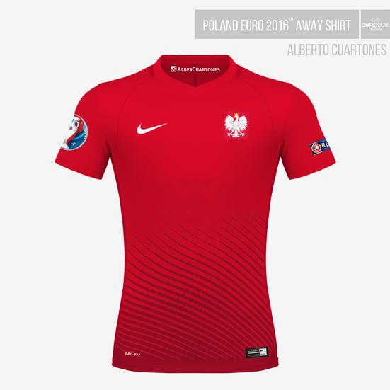 Poland UEFA EURO 2016™ Away Shirt