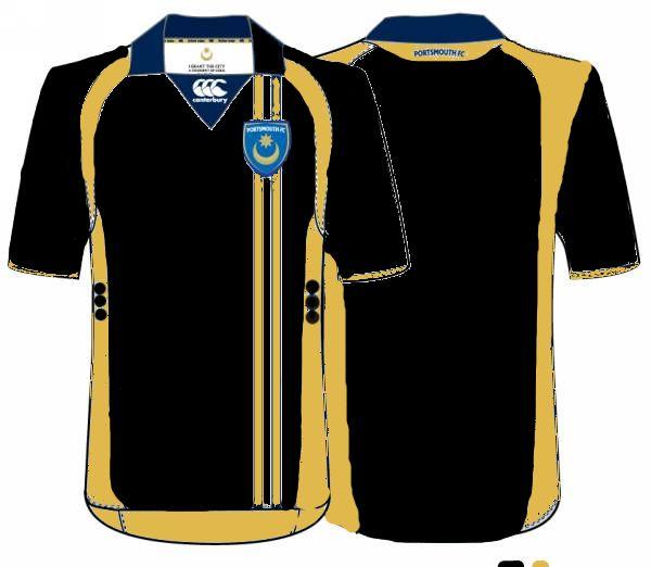 Portsmouth Fc Third Away Kit