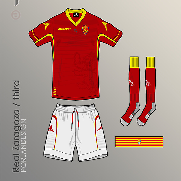PORLANDESIGN Real Zaragoza third