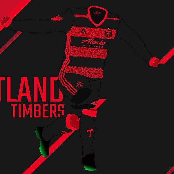Portland Timbers - Away kit