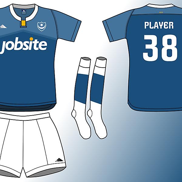 Portsmouth FC home kit