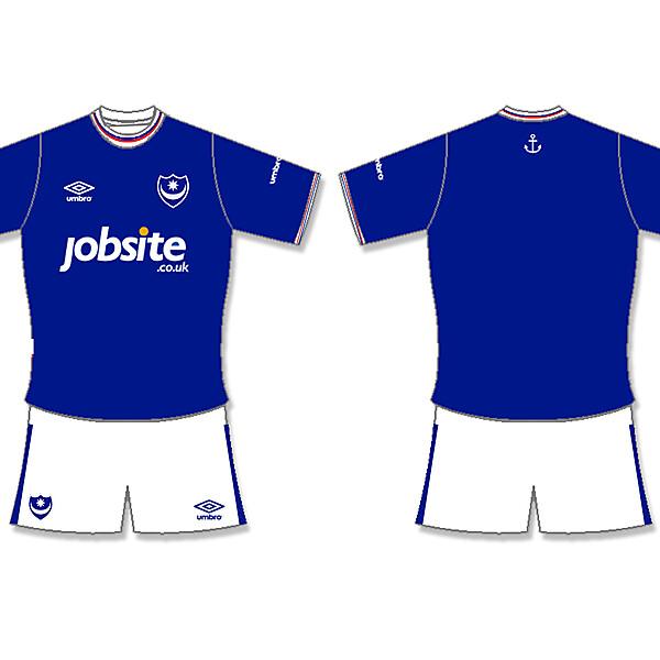 Portsmouth FC Umbro Home Kit