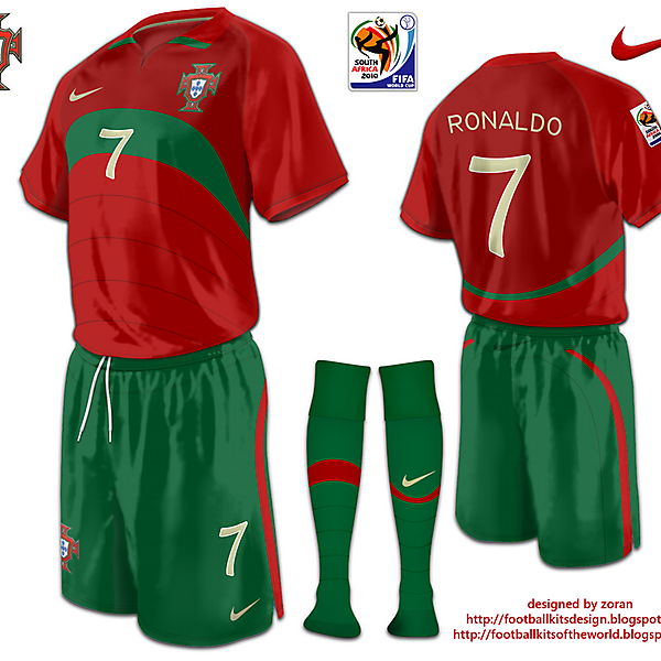 Portugal World Cup 2010 fantasy home