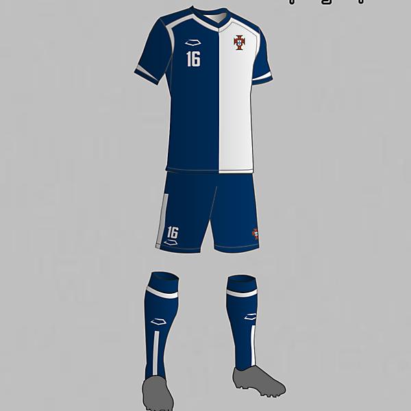 Portugal National Team Away Kit 2016