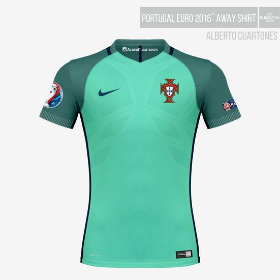 Portugal UEFA EURO 2016™ Away Shirt