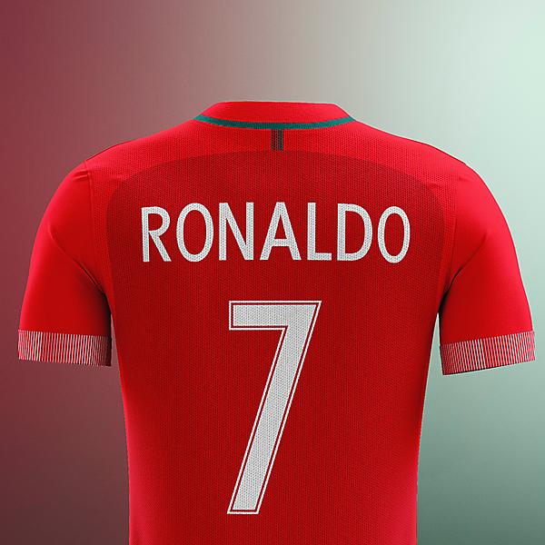 Portugal x Nike - 1st back