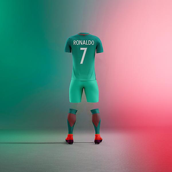 Portugal x Nike - 3rd back