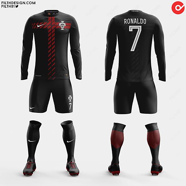 Portugal x Nike | Away Kit