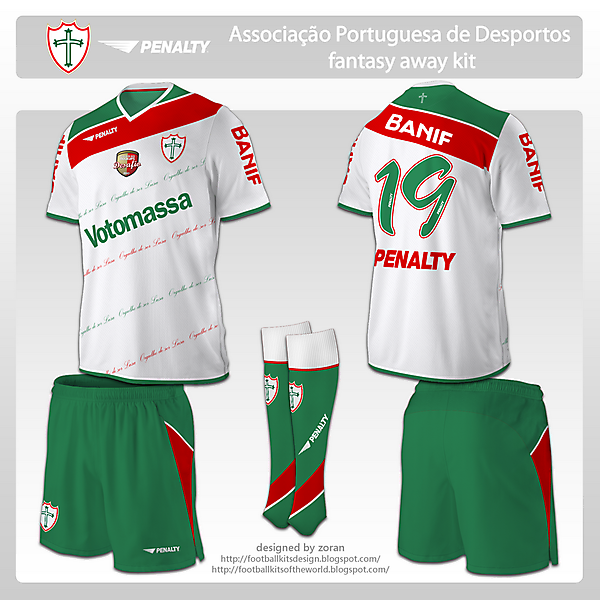 Portuguesa fantasy away
