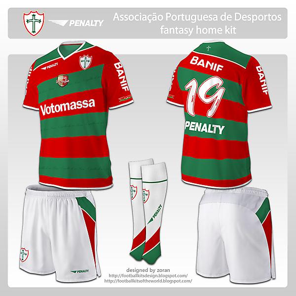 Portuguesa fantasy home