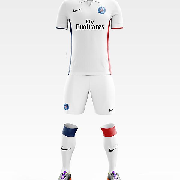 PSG Away Kit 17/18.