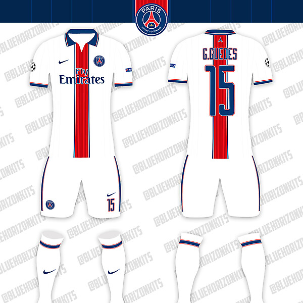 PSG Away Kit (UCL)