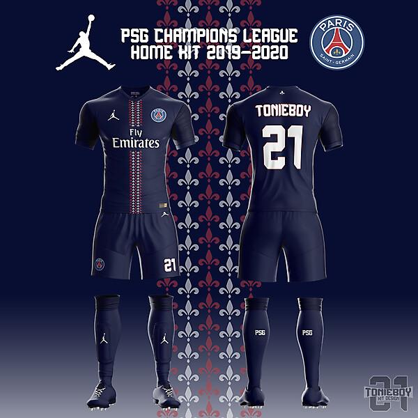 PSG Champions League Kit
