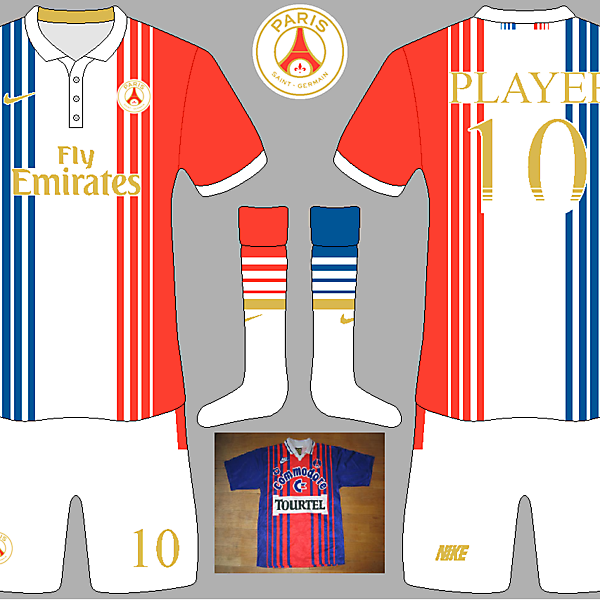 PSG European Kit (inspired by 1993/1994 kit)