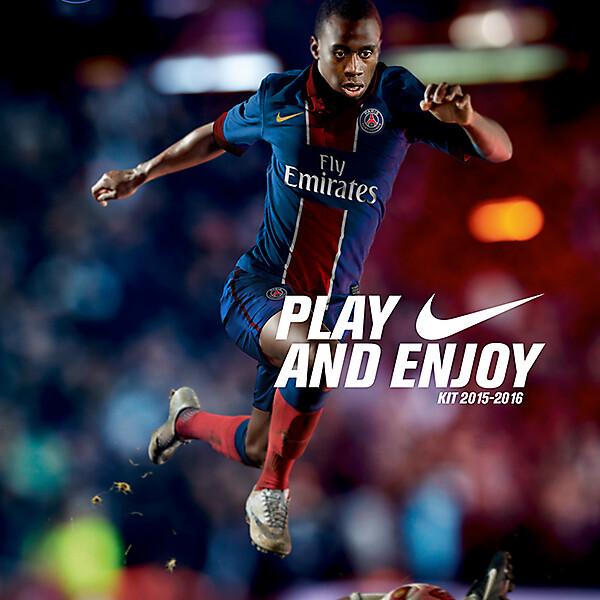 PSG Nike Kit 2015-2016 - ADVERT