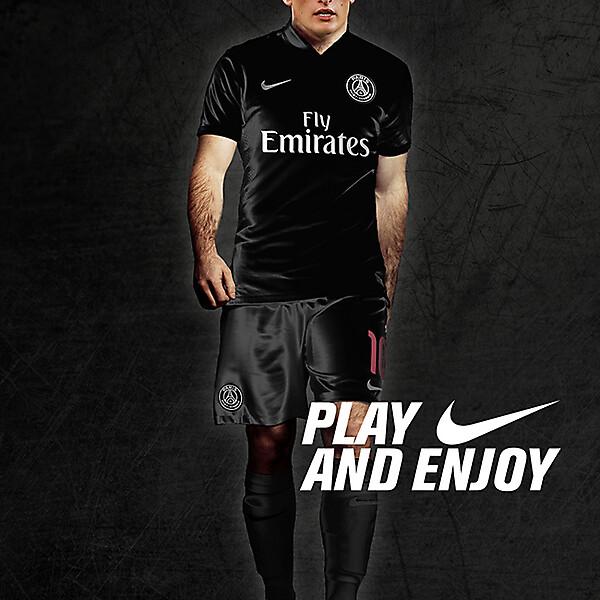 PSG Nike Kit 2015-2016 UEFA