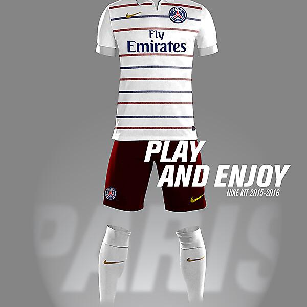 PSG Nike Kit Away 2015-2016