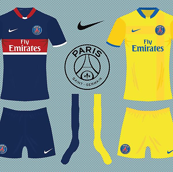 Psg Nike Kits