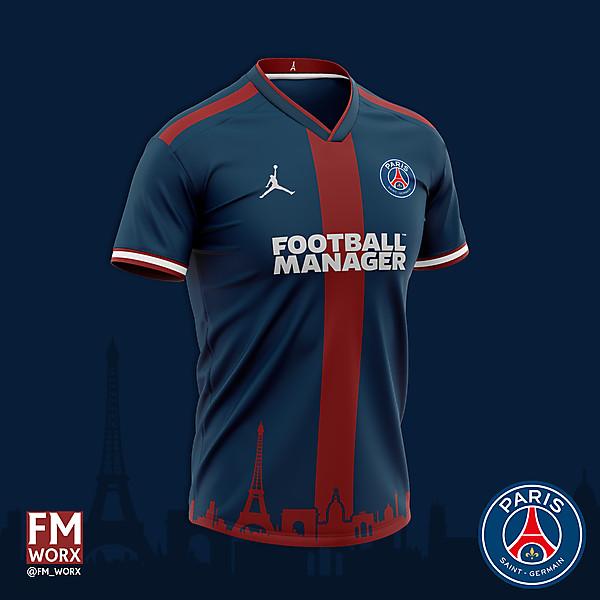 PSG Paris Skyline Shirt