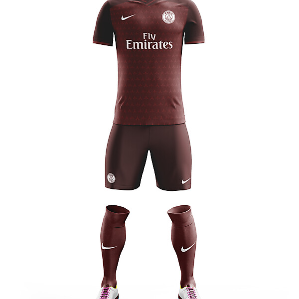 PSG Third Kit 17/18.