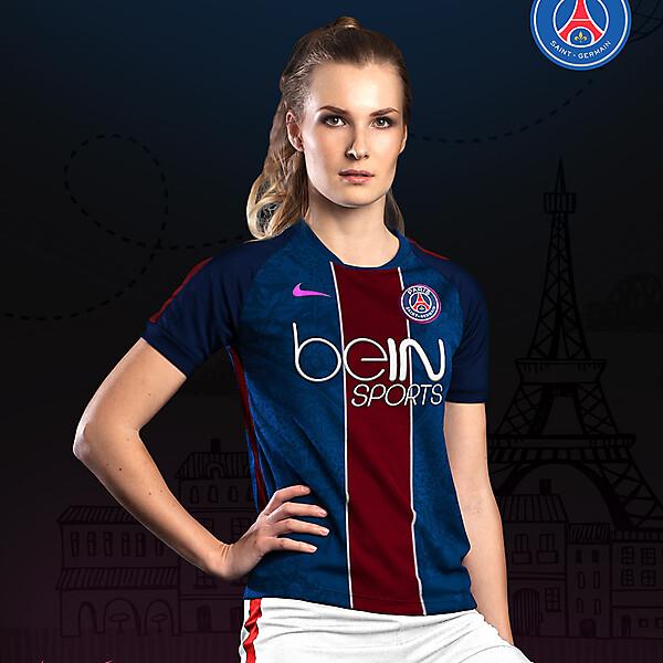 PSG Women Home - Nike kit 16-17