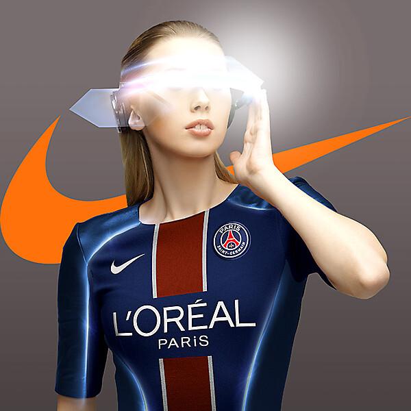 PSG Women Kit Concept