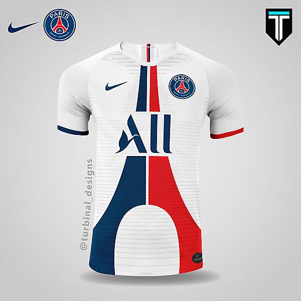 PSG x Nike - Away Kit