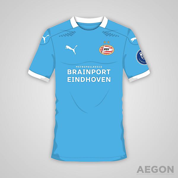 PSV Eindhoven Puma Away Kit