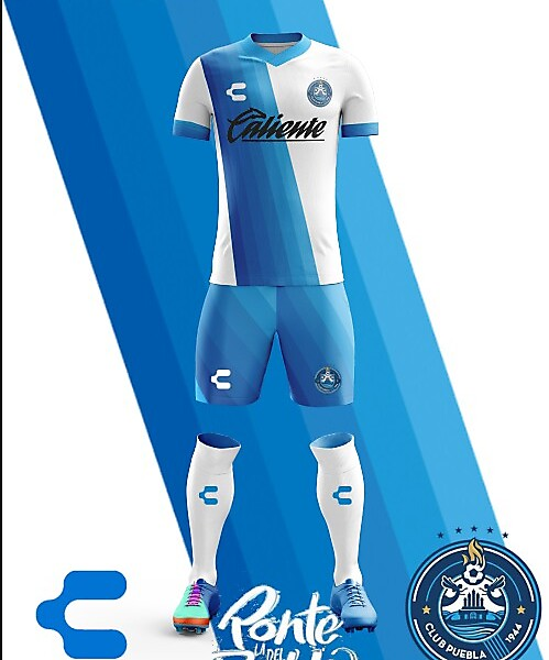 Puebla F.C. Charly Home Kit 2018