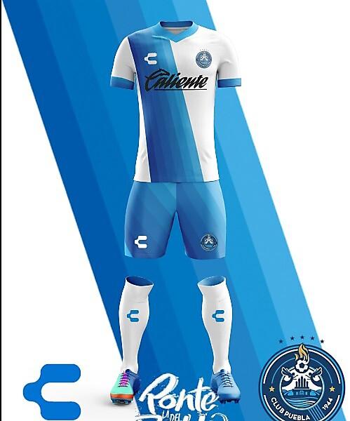 Puebla F.C. Charly Home Kit 2018