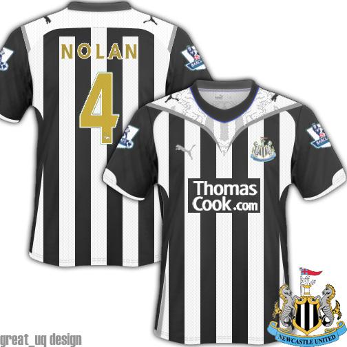 Newcastle United 10/11 Fantasy Puma Kit